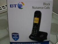 BT 1200 Nuisance Call Blocker - Expandable Cordless