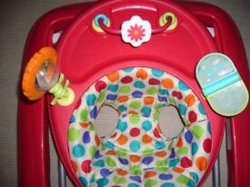 Chad Valley folding Babywalker