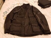 Frank Thomas XXXL Motorcycle Jacket Worn twice Perfect Condition