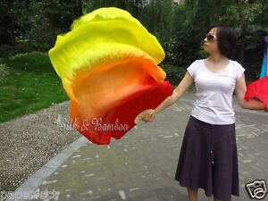 +carry bag! 1.5m=5ft single piece right hand silk fan veil, free shipping!