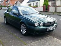 2003 JAGUAR X-TYPE 2.0D SPORT, FULL YEAR MOT, CREAM LEATHER - TRADE IN P/X WELCOME (BMW,AUDI,FORD)