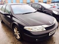 RENAULT LAGUNA DIESEL MANUAL 6 SPEED GT 1.9 DCI SATNAV HALF LEATHER BLACK
