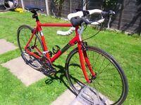 Pinnacle Dolomite Road Bike, racing commuting RRP £575 excellent condition, Specialised Trek Carrera