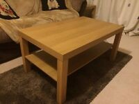 Coffee Table, Oak, Excellent condition