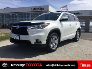 Toyota Certified 2015 Toyota Highlander Limited AWD - 1 OWNER!