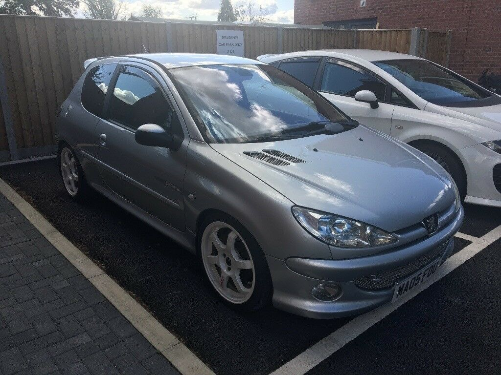 peugeot 206 quicksilver 1 6 hdi in bungay norfolk gumtree. Black Bedroom Furniture Sets. Home Design Ideas