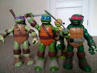 Teenage Mutant Ninja Turtles complete set