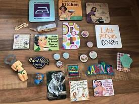 C fridge magnets & coasters
