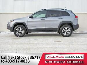 2016 Jeep Cherokee Trailhawk 4x4   No Accidents  