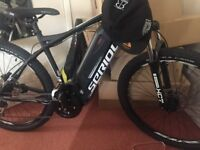 """Electric bycicle Serious Telluride FS E-Hardtail 27 5"""" black"""