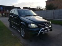 4x4 Mercedes ML AMG 270 Cdi 7Seater