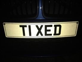 Exclusive Private Cherished Number Plate