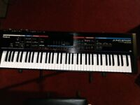 ROLAND JUNO STAGE PROFESSIONAL KEYBOARD SYNTHESIZER + STAND