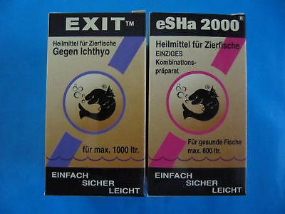 ESHA-SET 2-teilig 2000 + EXIT je 20 ml HEILMITTEL + KOSTENLOSER SCHNELLVERSAND!