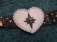 Vintage Large Hand Made 'Biker Style' Belt Buckle