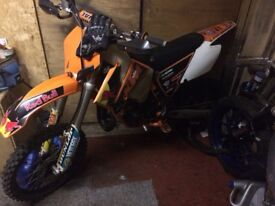 Ktm 85 clean and tidy recent build