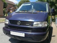 VW T4 caravelle 1997 twin sliders