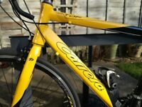 Carrera Tour de France bicycle with a 54cm frame, ex display model (not used outside)
