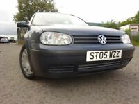 05 VOLKSWAGEN GOLF 1.9 DIESEL ESTATE,MOT JUNE 019,2 OWNERS FROM NEW,2 KEYS,PART HISTORY,GREAT DRIVER
