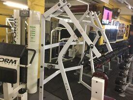 Hammer strength jammer superb working order