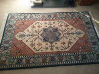 Large Turkish Woollen Rug 150 x 234 cm