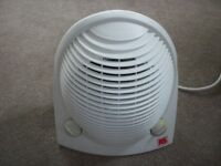 Portable white fan / heater