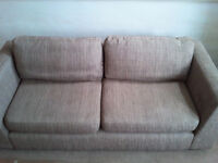 2 sofas 1 large settee & 1 bed settee very comfortable viewing recommened £140.00 open to offers