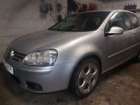 Vw golf 2.0tdi sport 2006 manual