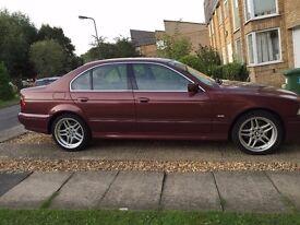 "BMW 5 Series 535i V8 auto, rare colour, 10 months MOT, 18"" Alloys, Electric seats"