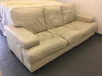 Sofa FREE - Cream Leather
