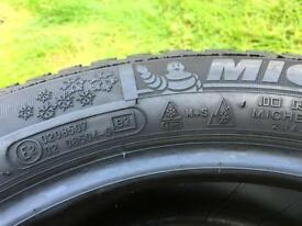"15"" Michelin Alpin A4 Winter Tyres 195/50/15"