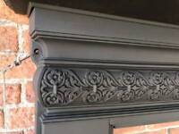 Victorian cast iron fire surround CHEAP DELIVERY UK