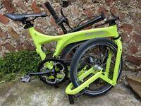 Birdy Folding Bike (lighter/faster/better than a Brompton)