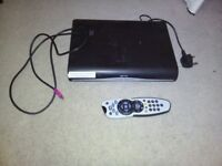 SKY HD BOX WITH HDMI CABLE, REMOTE AND LEAD