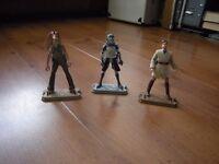 Star wars three figures