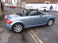Audi Tt roadster 150 convertible,2 previous owners,2 keys,FSH,full MOT,runs and drives well,LS04VRG