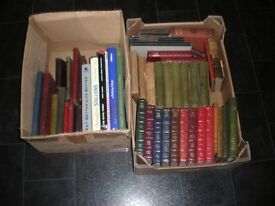 COLLECTION OF OLD BOOKS FOR SALE.