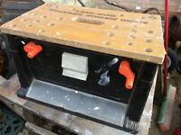 Black & Decker Workmate Workbox WM450 with Tools