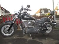 Harley Davidson 2010 FAT BOB stage 1 power £8995.00 just had full 25000 service