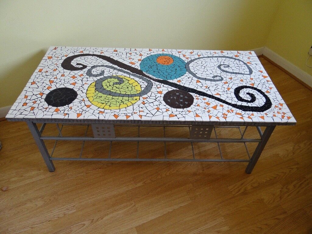 Mosaic Occasional Coffee Table Ft X Ft X Ft In Cambuslang - 4ft coffee table