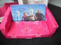 Children's Frozen fold up sofa bed