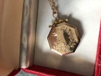 Victorian chain and pendant