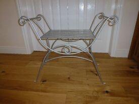 Metal seat/stool