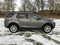 Land Rover Discovery Sport TD4 HSE (grey) 2016-12-06