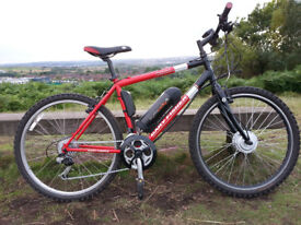 Electric Mountain Bike - Very Good Condition - 250W - Pedal Assist