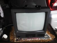TELEVISION++14INCH REMOTE CONTROL++ANALOGUE