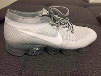 Nike vapormax Grey ,43 EU size ,