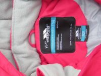 Trespass Kids Pink Ski Suit age 9/10 girls as new spot less top quality very warm.