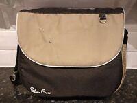 Silver Cross Changing Bag - Black & Beige - like new!