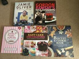 Cook and baking books bundle
